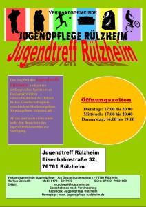 Öffnungszeiten 2019 Jugendtreff Rülzheim