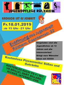Eröffnung Juze Rülzheim 18.1.2018