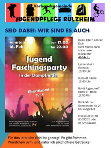 Faschingsparty Dampfnudel 16.2.19