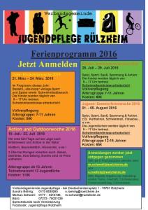 Jugendpflege Ferienprogramm 2015 Fertig  R_lzheim