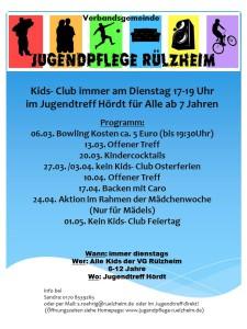 Kids- Club März April 18