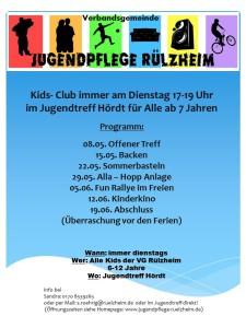 Kids- Club Mai Juni18