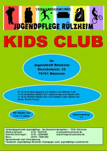 Kids Club Programm Teil 1
