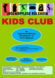 Kids Club Programm Teil 2